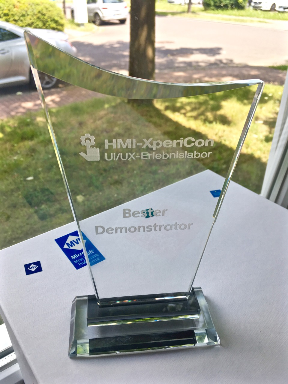 Shapefield Award HMI-Xpericon 2018