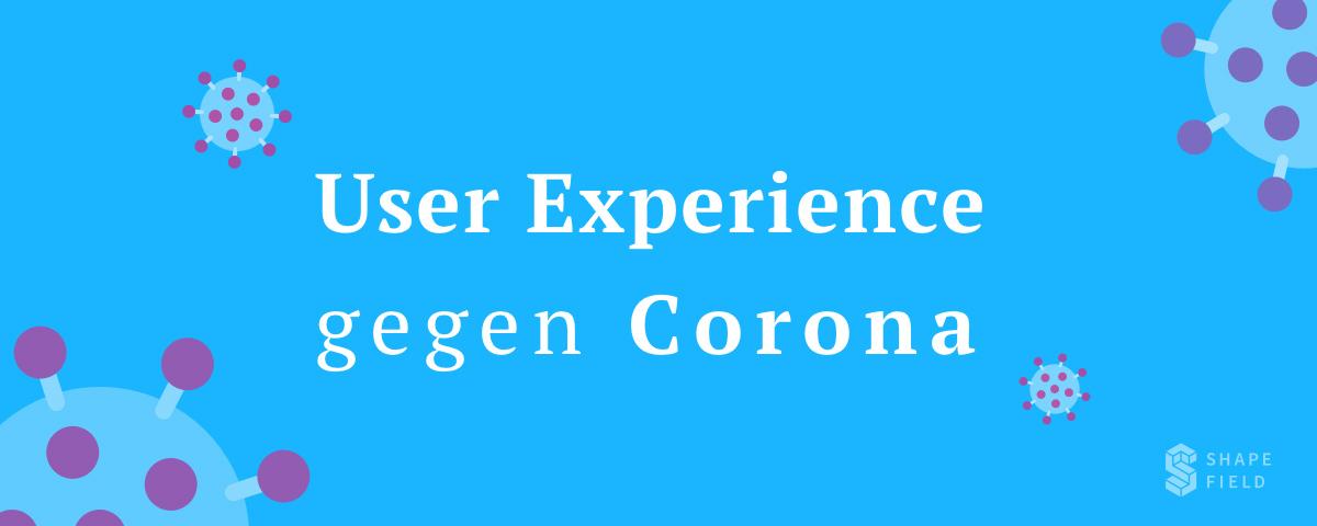 UX Design gegen Corona