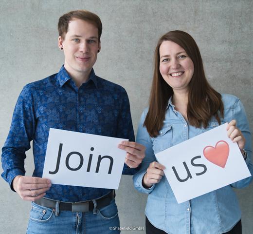 Join us! Natalie und David