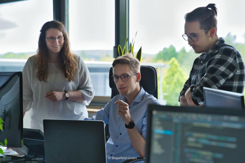 UX Designer Kira, Niklas und Matthias